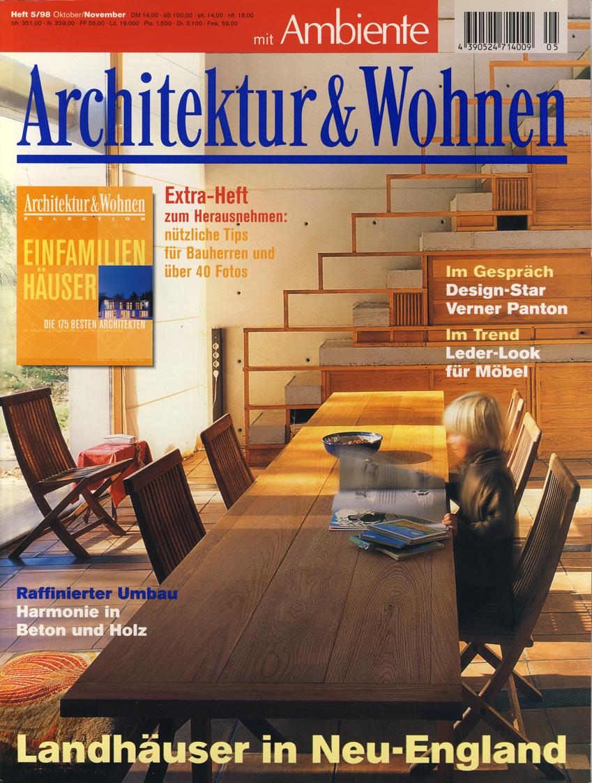 Architektur Und Wohnen 5/98